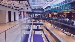 Luz ultravioleta UVC para sanitización de tiendas comercio ambientes