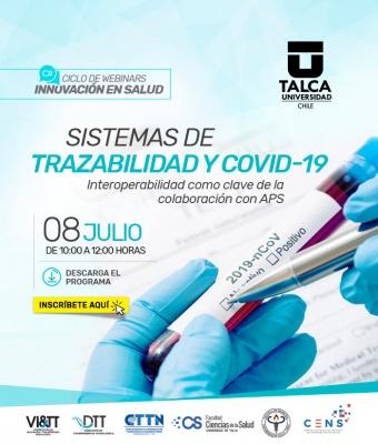 Webinar CENS UTalca | Sistemas de trazabilidad y COVID-19