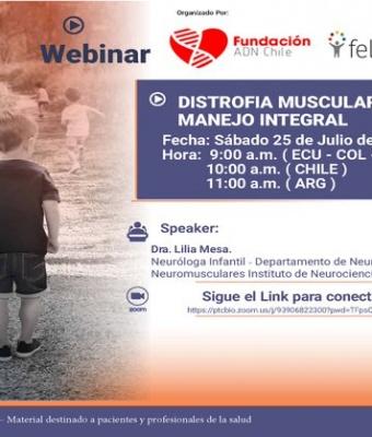 Webinar DIMUS Chile | Distrofia Muscular de Duchenne: Manejo Integral