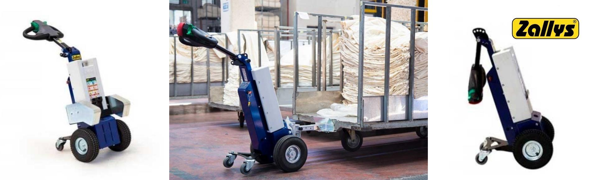Carros Eléctricos para el manejo de cargas en Hospitales y Clínicas - Zallys